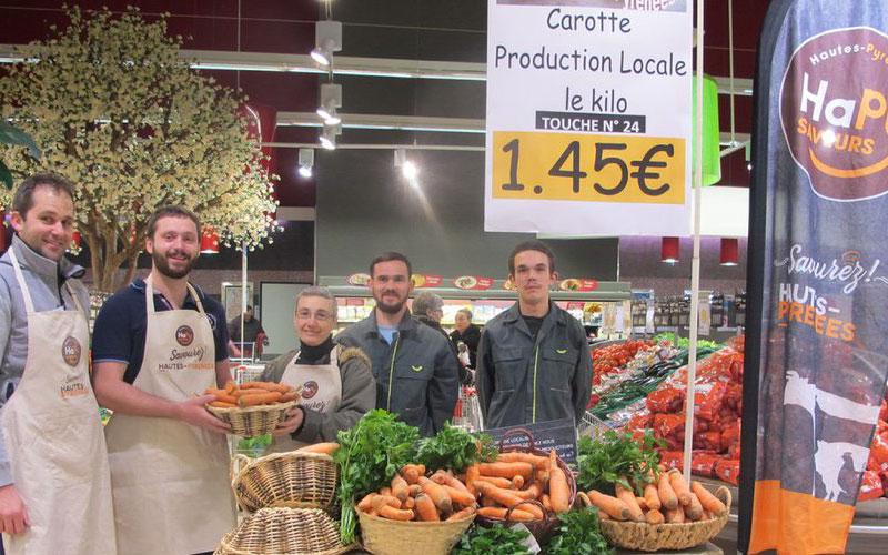 Fruits et légumes HaPy Saveurs au centre commercial