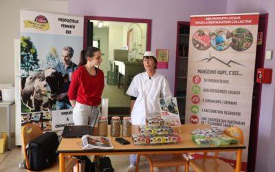 Découverte des Yaourts Bio à l'école de Siarrouy